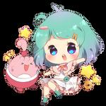 Yey! (Chibi commission)