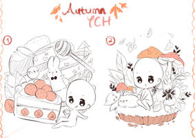 [LAST] Autumn YCH Auction!! by macaarons
