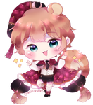 Sparkling (babu chib commission) by macaarons