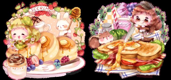Sweet 'n yummy [ych food]