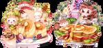 Sweet 'n yummy [ych food] by macaarons