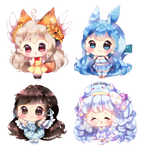 Baby Cheebs YCH by macaarons