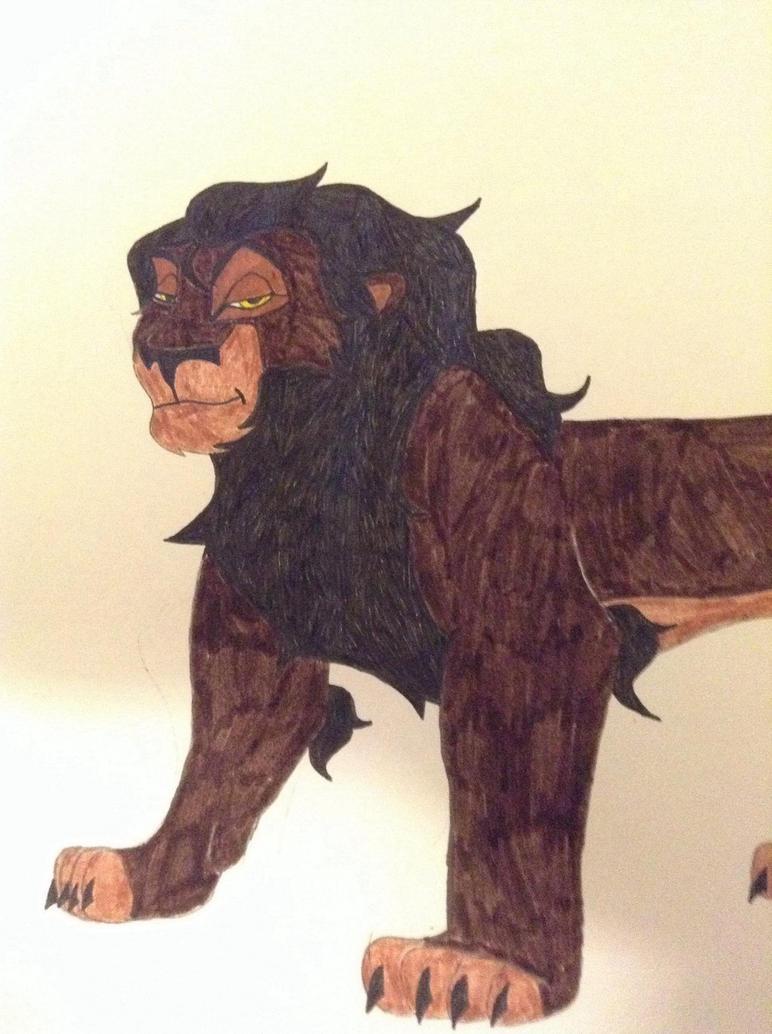 Tafari: Son of Scar by partymammal