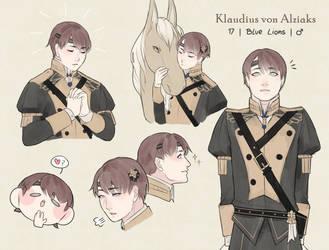 [FE3H OC] Klaudius by rani-ki