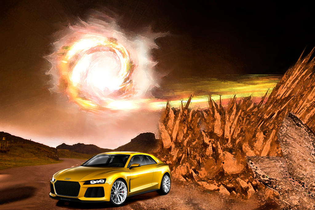 Audi Yellow by fakemaster2014