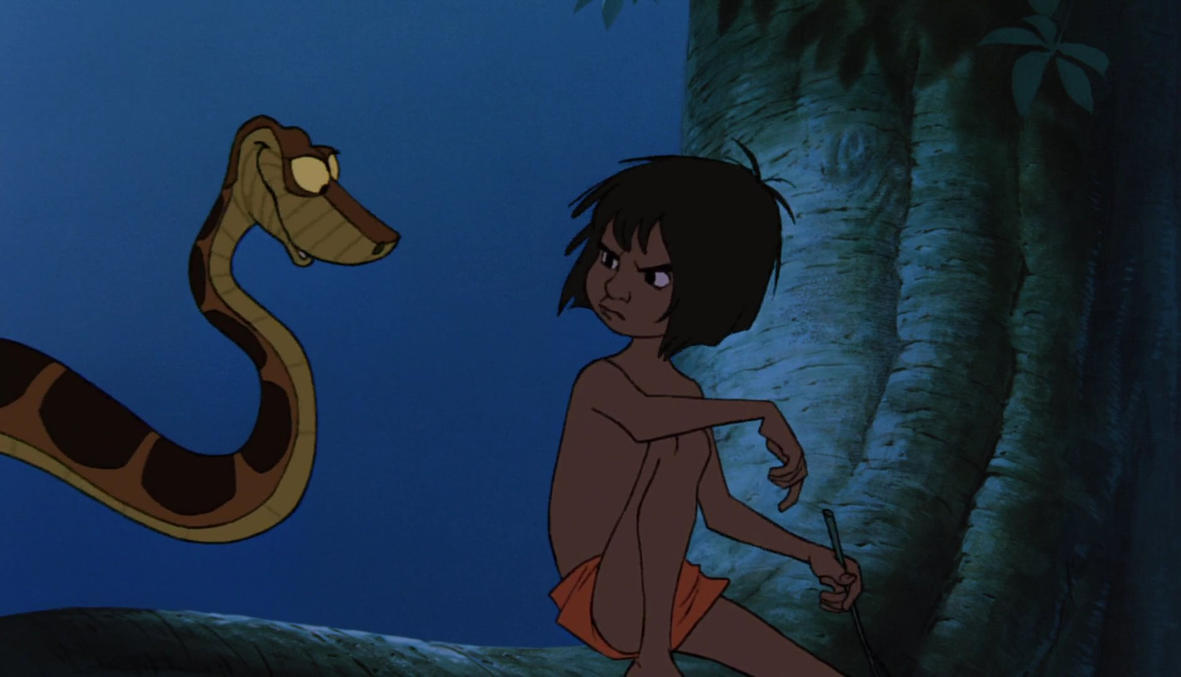 Ariel And Mowgli Porn kaa and mowgli first encounter 31littlered11 on