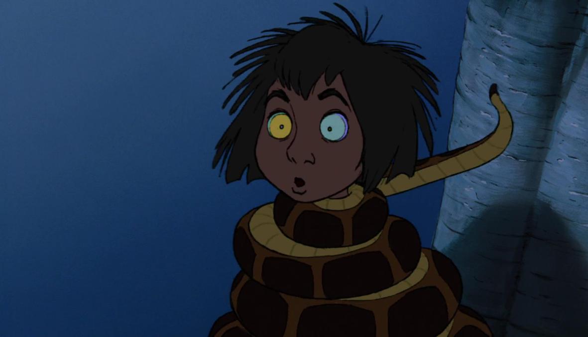 Ariel And Mowgli Porn kaa and mowgli first encounter 133littlered11 on