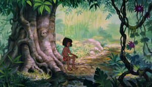 Kaa and Mowgli second encounter 01