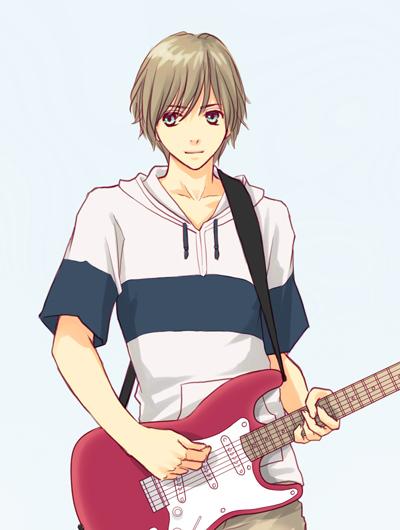 Guitar Boy By Hyalie On Deviantart