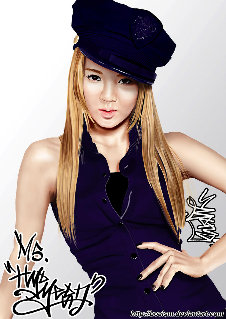 Hyoyeon Digital Painting 2 by BoAism