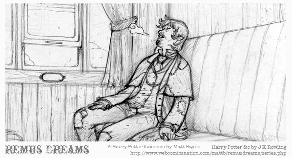 Remus Dreams, panel 3