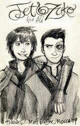 Jet and Zuko