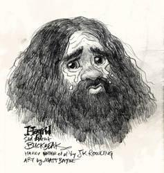 Sad Hagrid