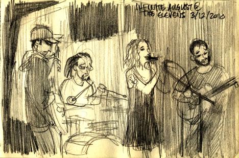 Infinite August at The Elevens by heymatt