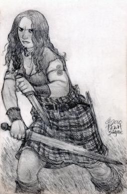 Red Sonja by heymatt