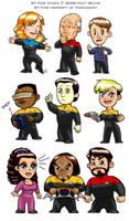 Star Trek: TNG Chibis