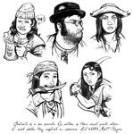 Portrait practice 2 - PIRATES