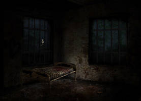 Asylum Room 129 by OminousShadows