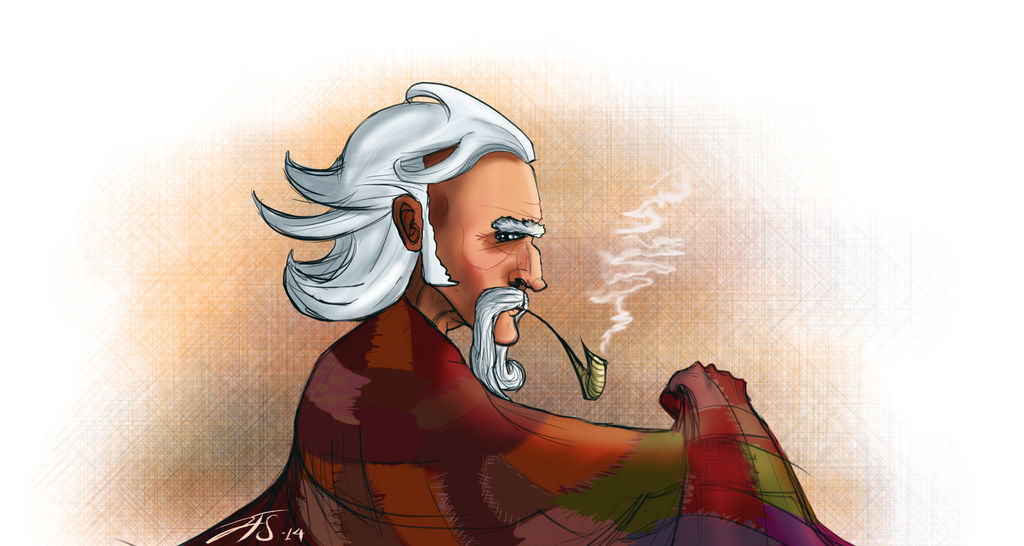 Thom Merrilin Colored by jtendollar