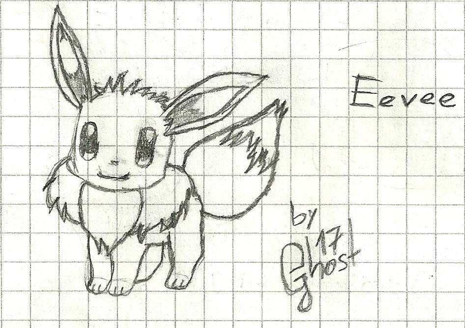 Eevee by 17GhosT