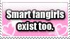 Stamp - Smart Fangirls by aromabayleaf