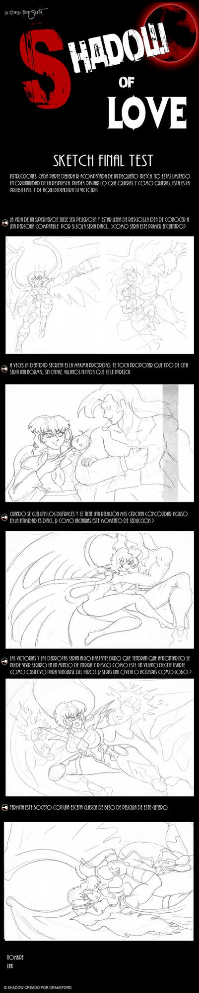 Shadow of Love: Hikary Lightzirb sketch by COATLYU