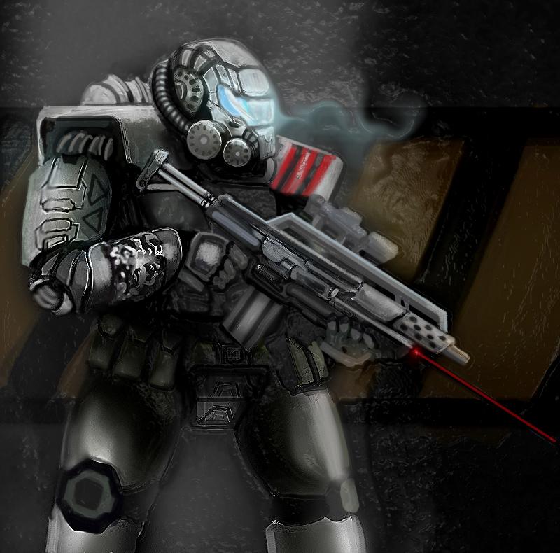 Heavy Soldier by Dbreak
