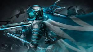 Futuristic knight