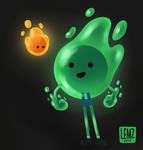 Slime Boy by lemz7kazama
