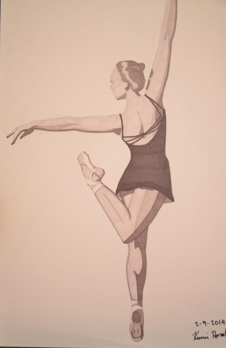 Ballerina by junglekatz2002