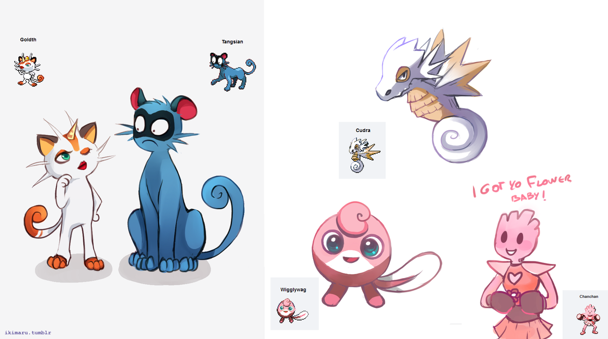 Bien connu Pokemon Fusion by ikimaru-art on DeviantArt FE52