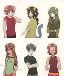 Troll Girls Hairstyle Swap