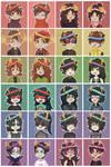 Flowercrown Troll Icons