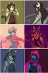 Trolls Color Palettes