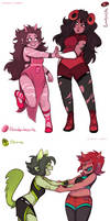 Sustuck: Gem Girls