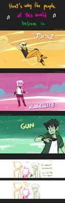 Sustuck: And Gun by ikimaru-art