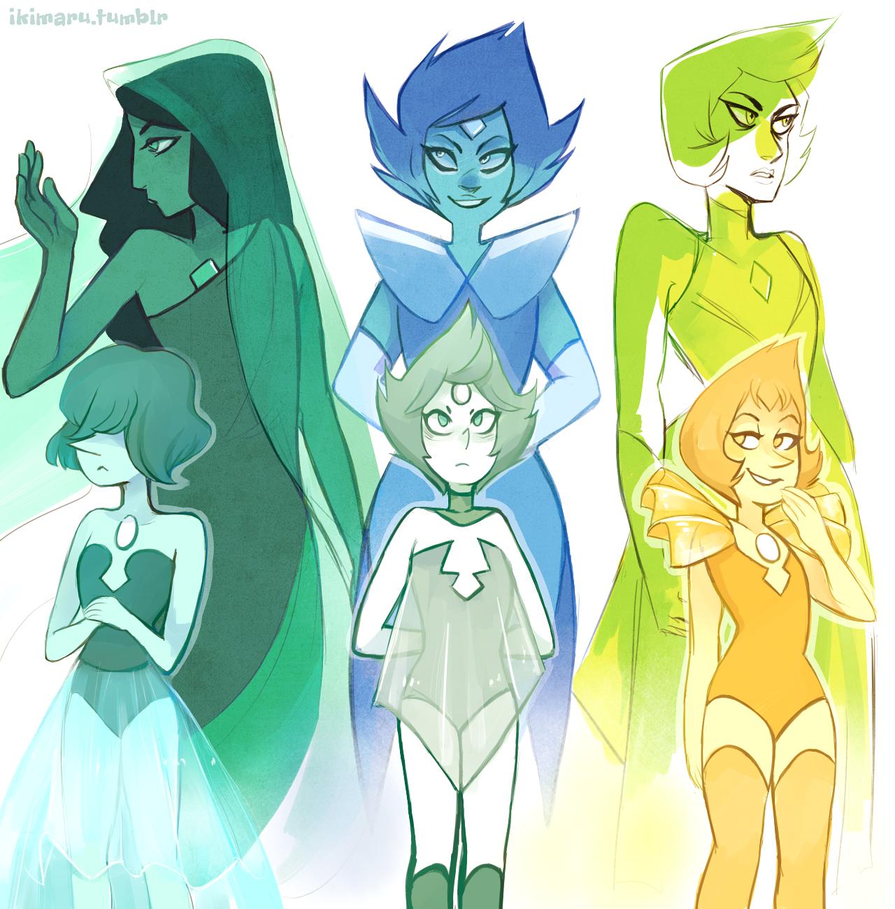 Diamonds + Pearls