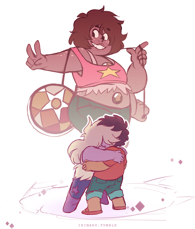 "09 aug 2016 ""us worst gems stick together, right?"" ""that's why we're the best"" on tumblr"