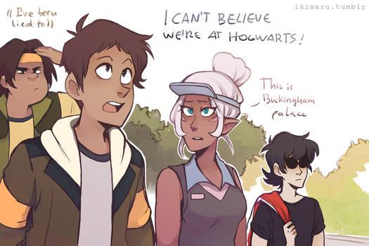 Not Hogwarts