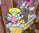 Wario's Super Crazy Mine Cart by Eccentric-Servbot