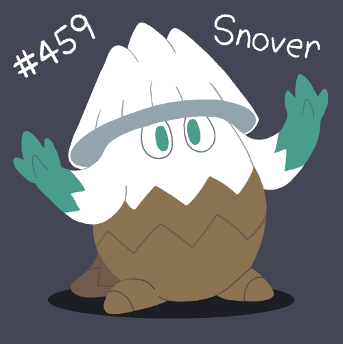 Pokemon: Snover by Eccentric-Servbot on DeviantArt