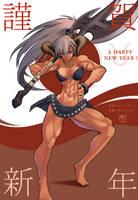 Minotauress and 2009 New Year