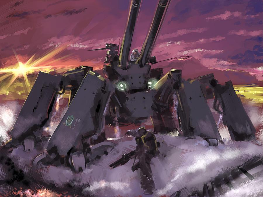 crawling artillery by ALF874