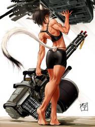 a half-beast girl by ALF874