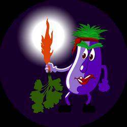 Rettenthetetlen-padlizsan - fearless eggplant