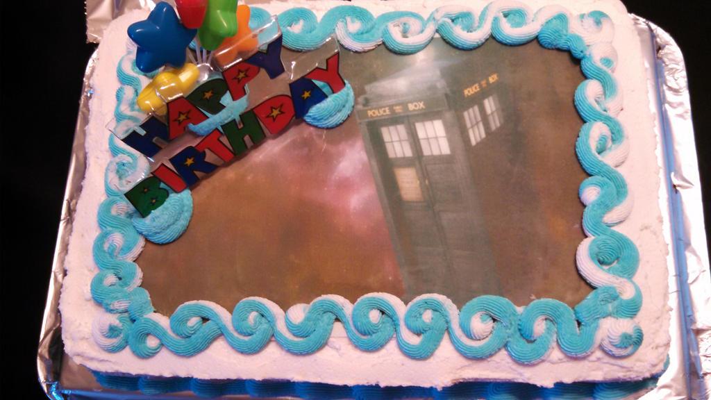 Doctor Who Birthday Cake By Neko Nyu Chan On Deviantart