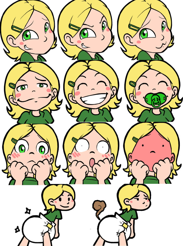 Sammy's emojis by The-Padded-Room