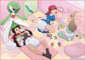 Trainer Daycare by The-Padded-Room