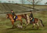 Gibsonvale Hunt - Team Chase 1