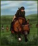 The Abbot of Unreason - Harpley Hunt by ElreniaGreenleaf